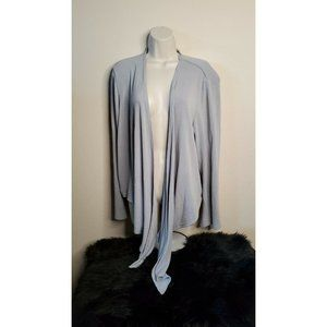 Torrid Long Sleeve Drape Front Open Cardigan